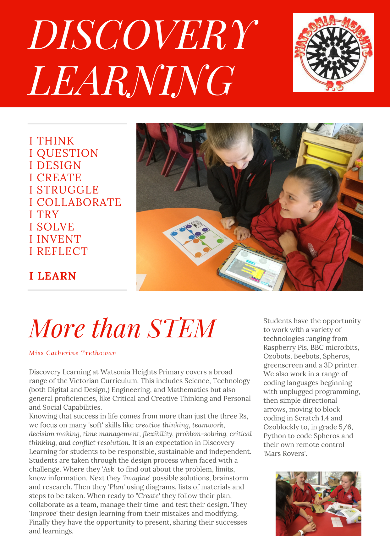 Discovery Learning blurb
